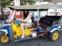 Felcsaptam sofőrnek Bangkokban