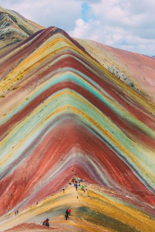 Rainbow Mountain,Peru