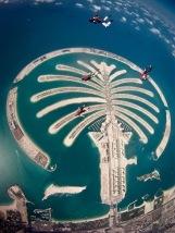 Dubaj,ejtőernyőzés